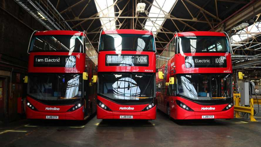 BYD & ADL Celebrate Over 100 Electric Double Deck Bus Sales In UK