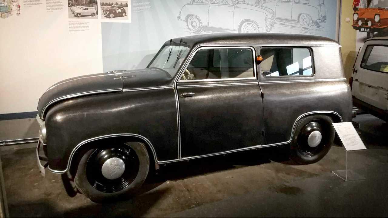 Kleinwagen-Ausstellung in Einbeck: Lloyd LP 300 Kombi