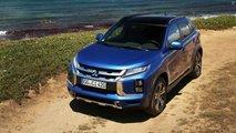 Mitsubishi ASX Facelift (2020) in Blau