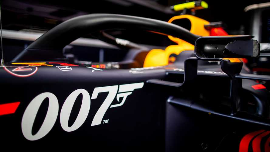 Red Bull F1 to run James Bond-inspired livery at Silverstone
