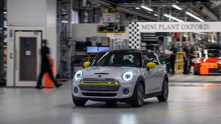 MINI Electric at Plant Oxford