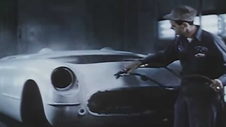 Video Of First Corvettes Being Built Is An Entertaining Blast From The Past