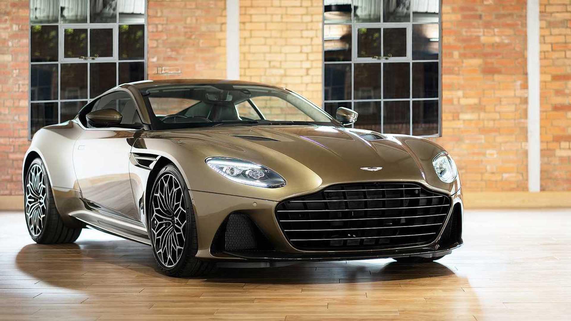 2019 Aston Martin Dbs Superleggera Gets James Bond Special