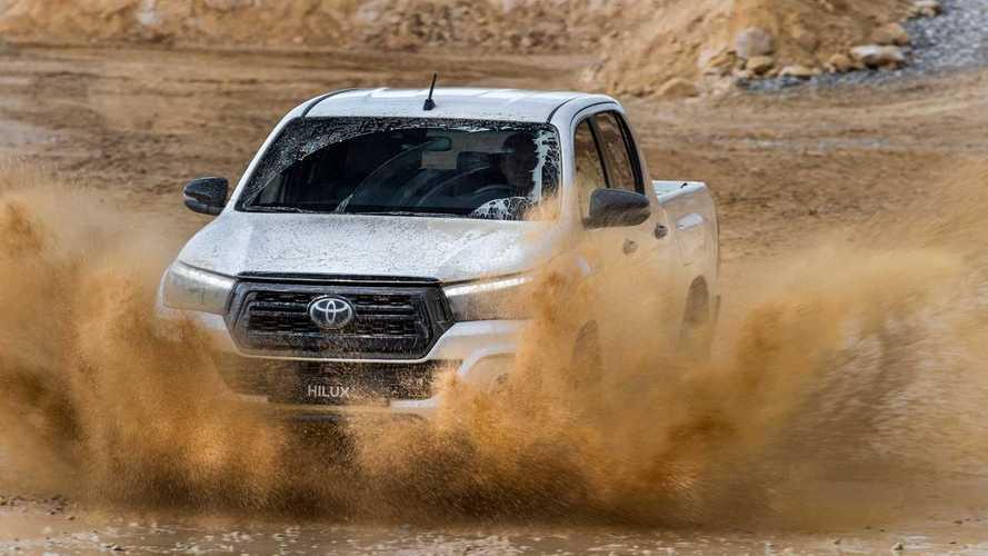Molle paraboliche Terrain Tamer per Toyota Hilux