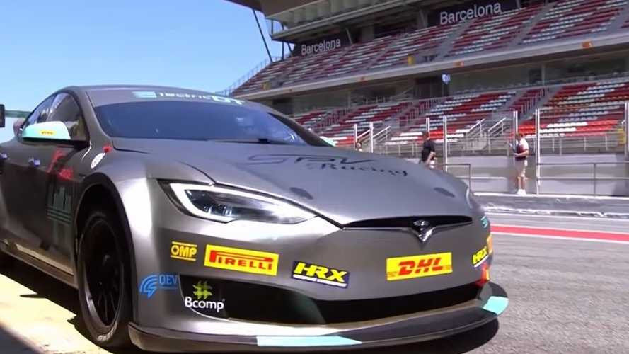 An Up-Close Look At The First, Official Race-Ready Tesla Model S