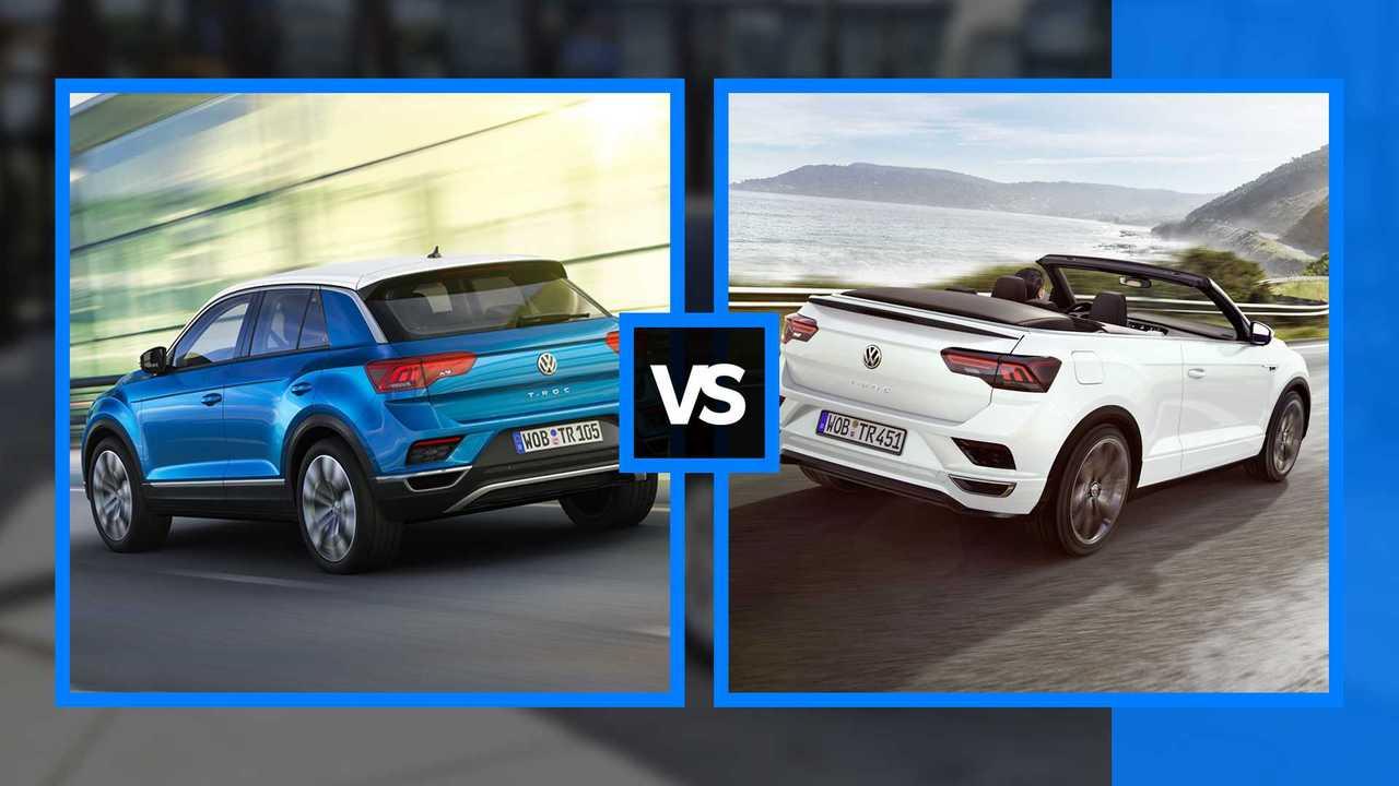 Volkswagen T-Roc vs T-Roc Cabriolet