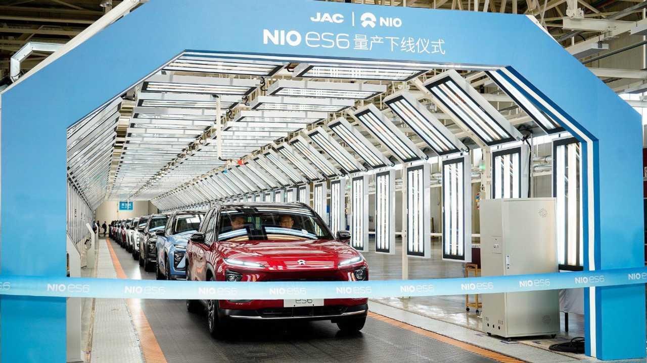 NIO ES6 production
