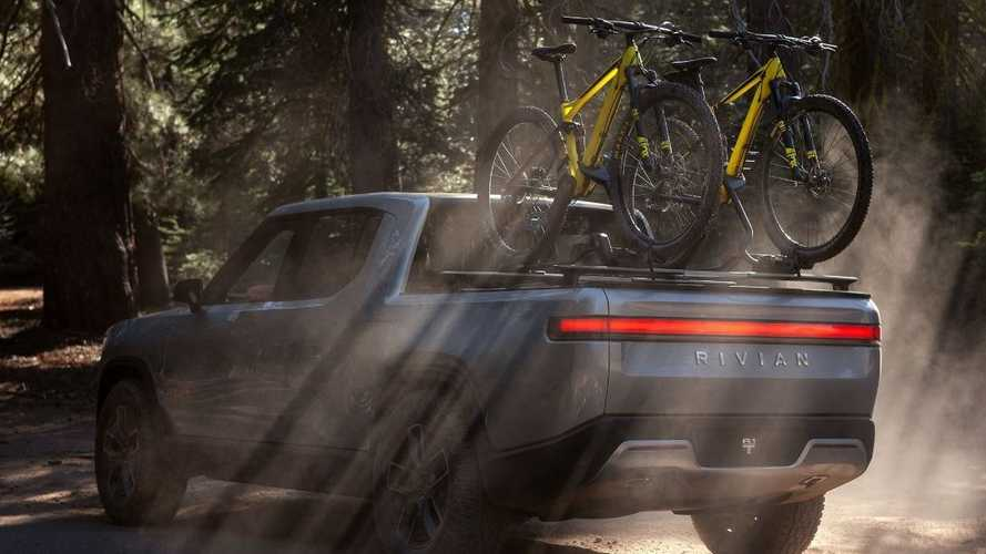 "Rivian Releases New ""Let's Ride"" R1T Electric Pickup Truck Image"