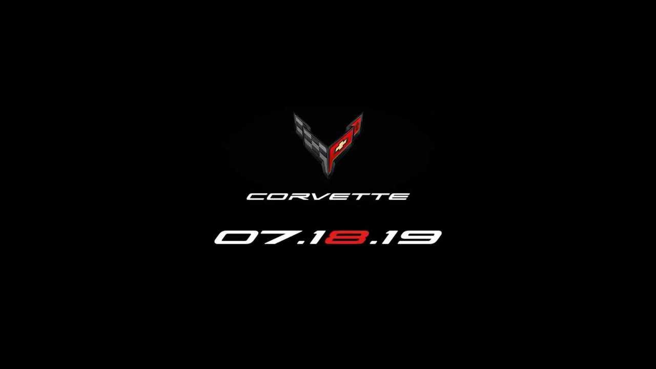 Corvette C8, il teaser anticipa la data del debutto della supercar