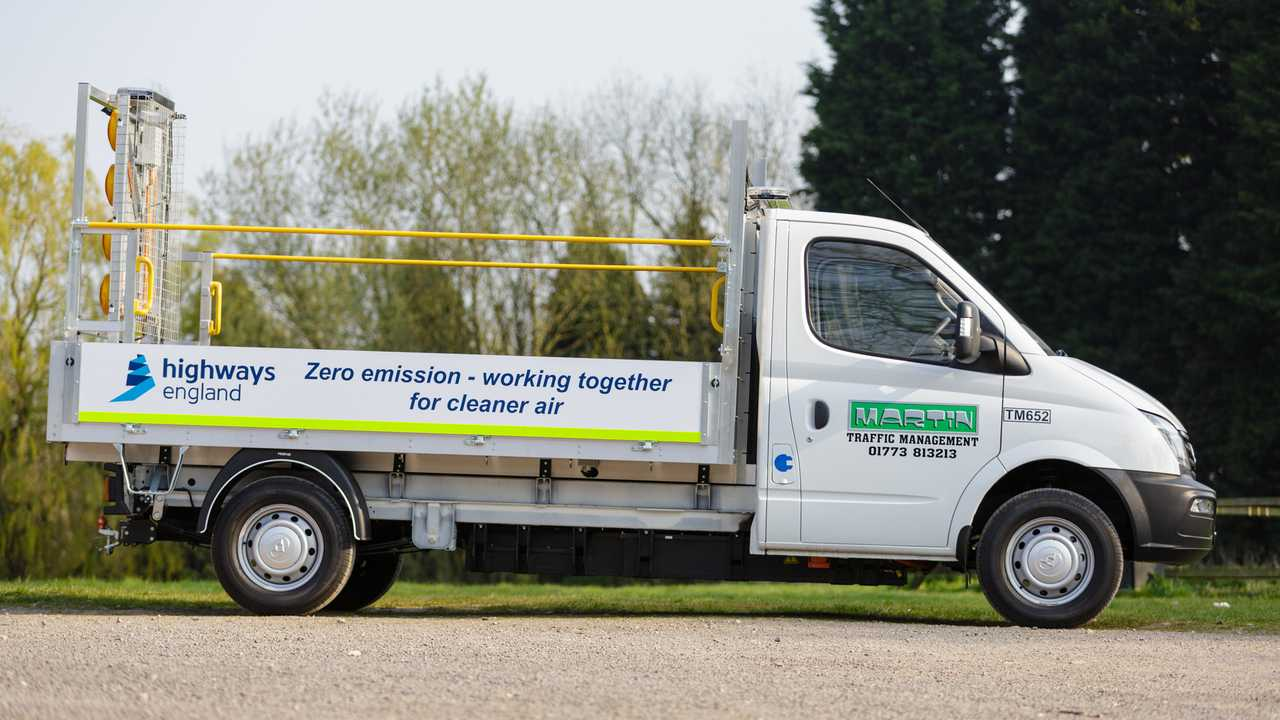 Highways England Electric Van