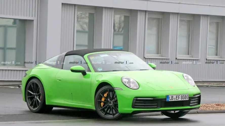 New Porsche 911 Targa Spied In 65 Jaw-Dropping Photos