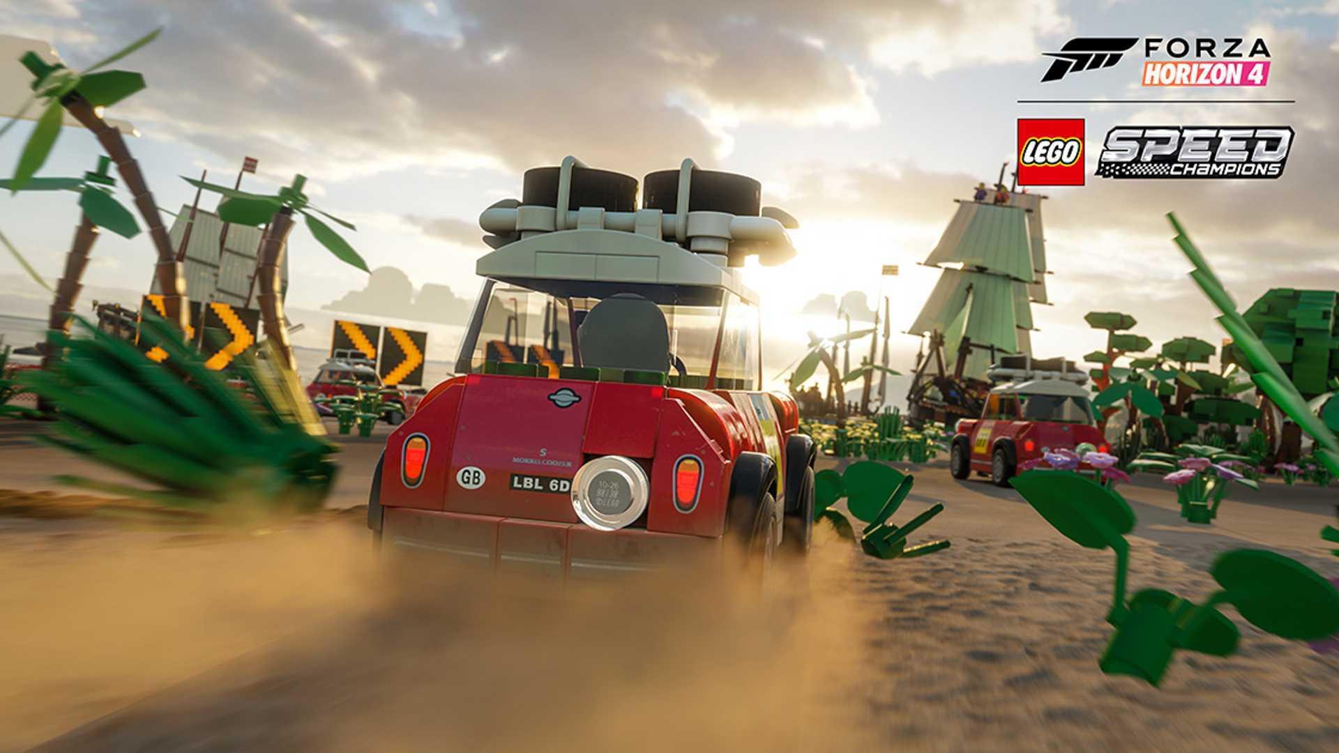 Lego Speed Champions, Rimac C_Two Are Invading Forza Horizon 4