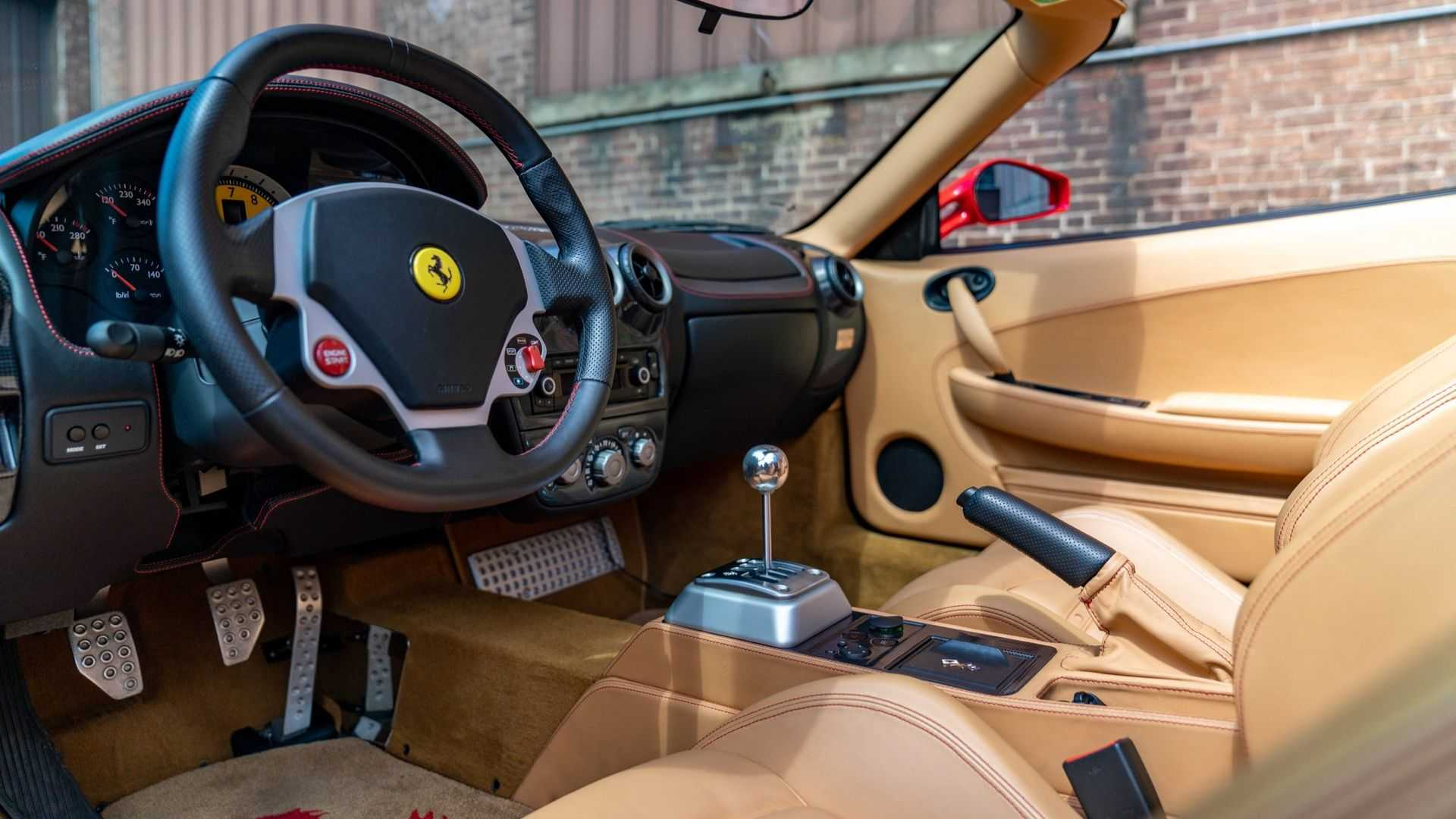 Ferrari F430 Spider Comes With A Gated Manual 4240431