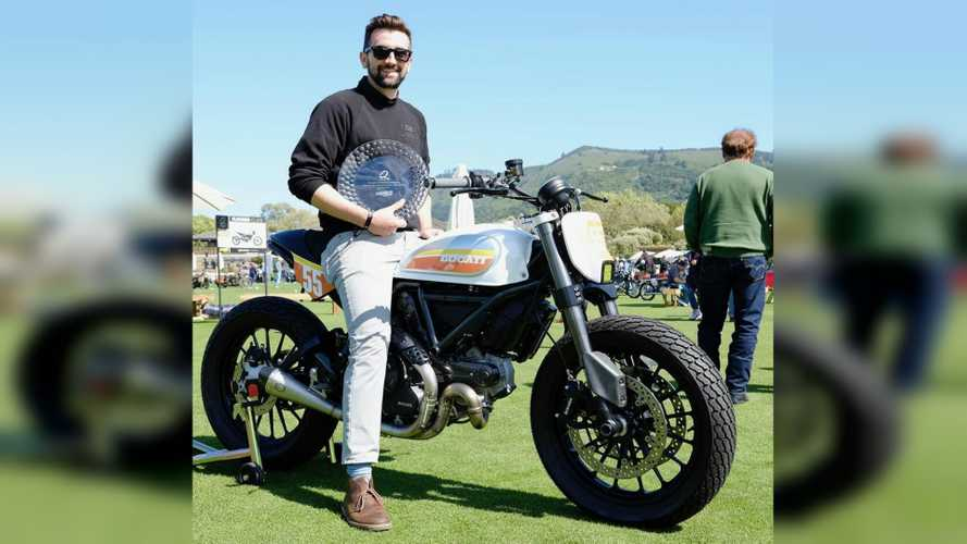Ducati Scrambler Icon Wins The Quail Scrambler Class