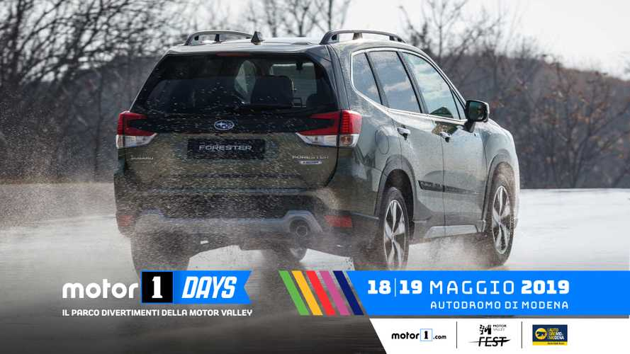 Subaru Levorg in anteprima nazionale ai Motor1Days