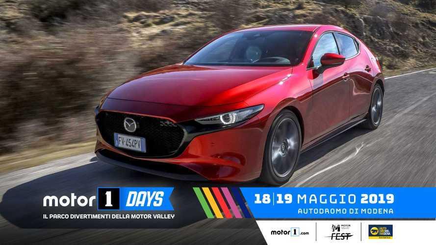 Mazda, esperienze a 360° ai Motor1Days 2019