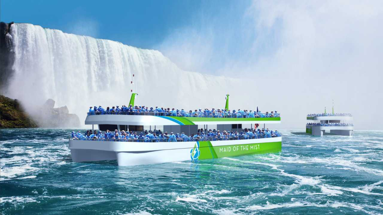 Maid Of The Mist First All-Electric Vessel