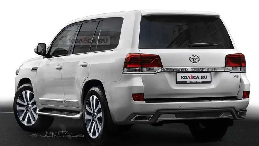 Toyota Land Cruiser Renderings