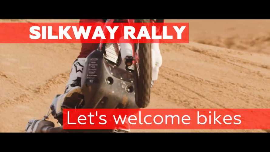 Bikes On Start Line Of Silk Way Rally For The First Time This Weekend