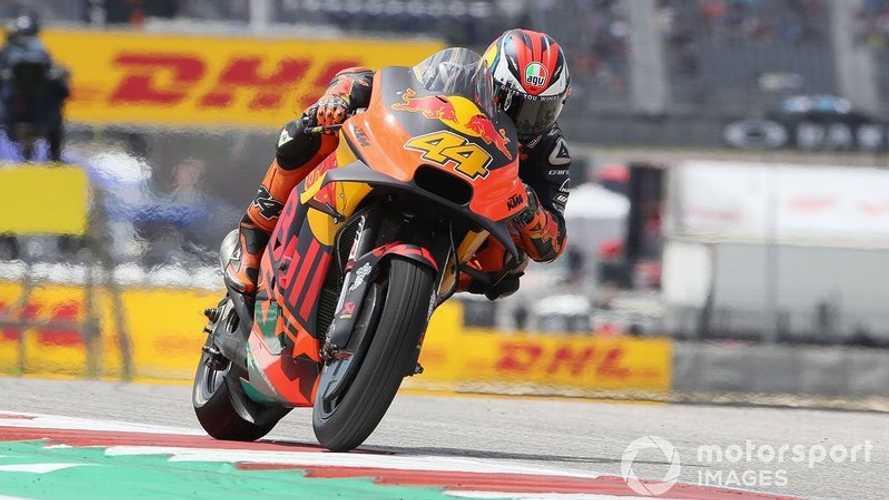 KTM homologó su spoiler en Austin; Yamaha y Aprilia esperan hacerlo en Jerez