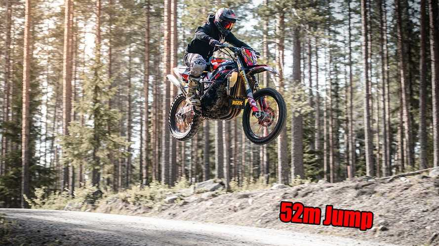 This Suzuki GSX-R 1000 Dirt Bike Is Truly Insane