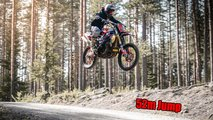 suzuke gsxr 1000 dirt bike insane
