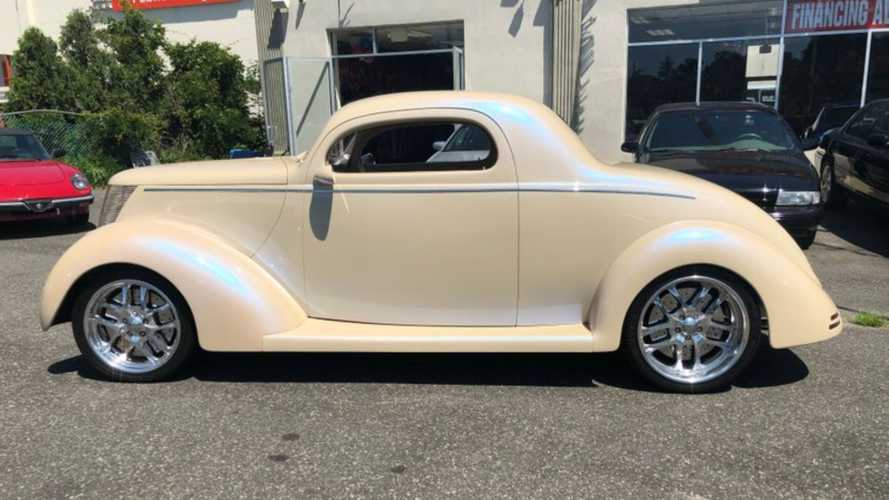 Smooth 1937 Ford Coupe Custom Nears Perfection