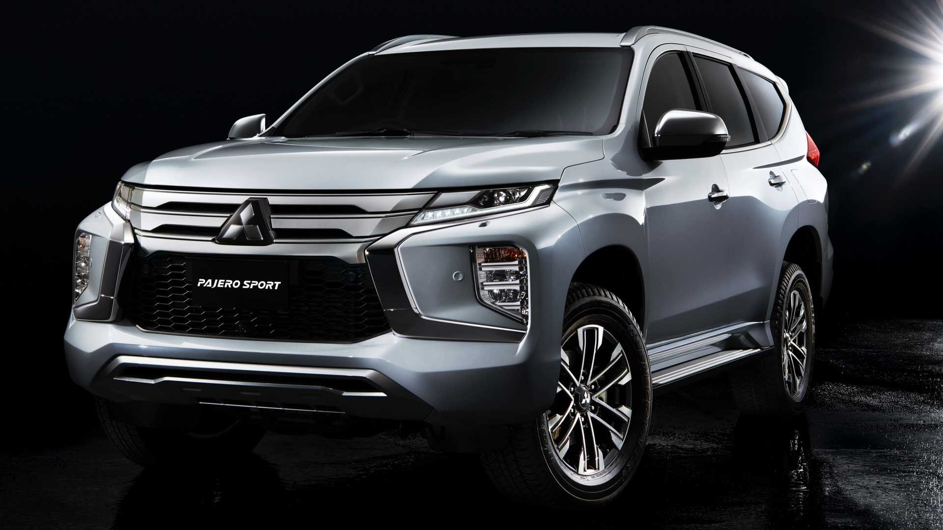 2020 Mitsubishi Pajero Sport Gets Fresh Face Updated Interior