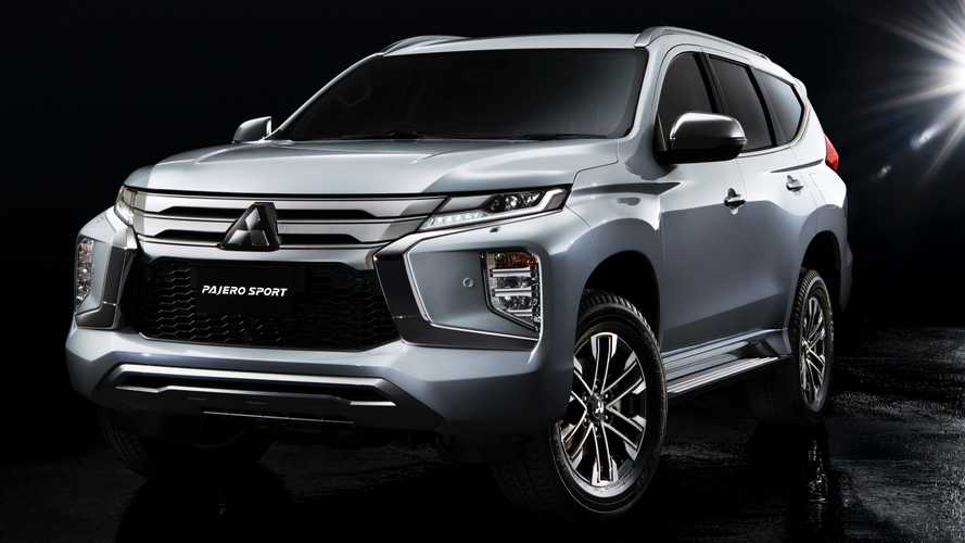 2020 Mitsubishi Pajero Sport Gets Fresh Face, Updated Interior