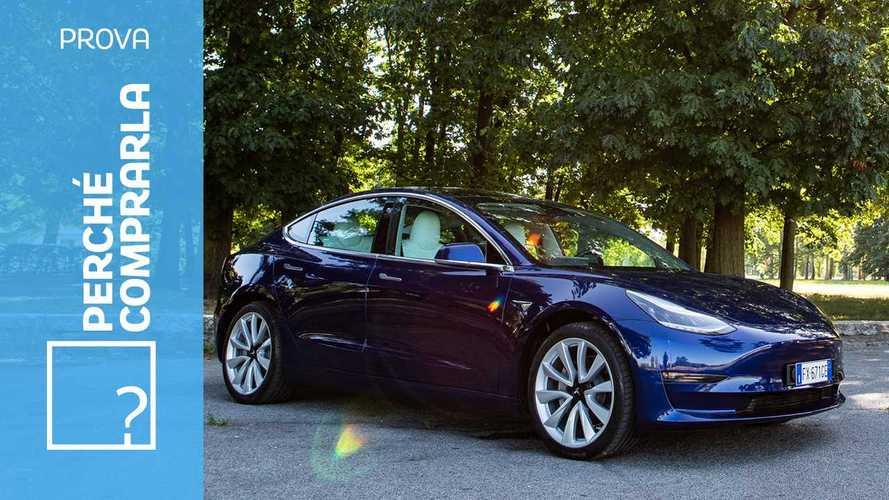 Tesla Model 3, perché comprarla… e perché no