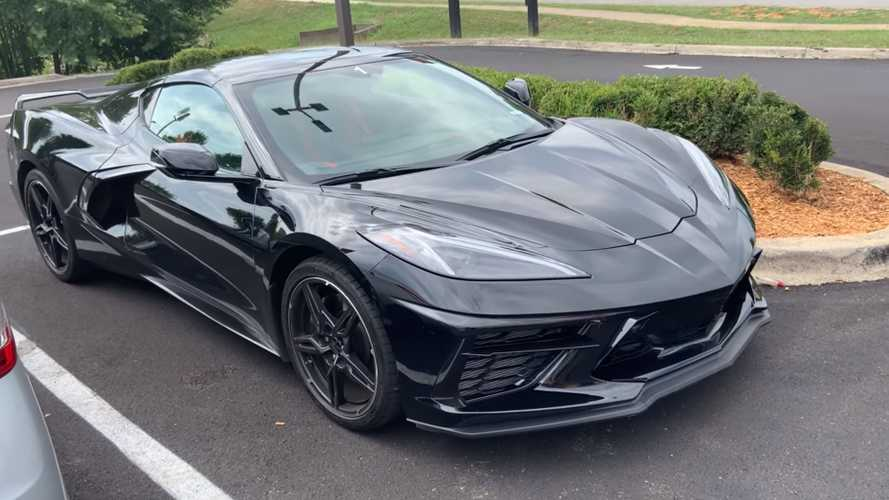 2020 Corvette Stingray in black