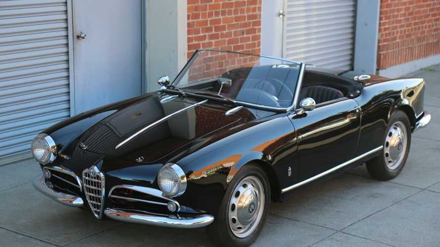 Beautifully Restored 1958 Alfa Romeo Giulietta Spider 750 For Sale