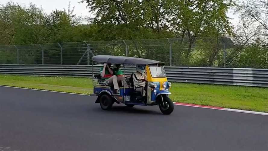 This Three-Wheeled Tuk-Tuk Set A Nürburgring Lap Record