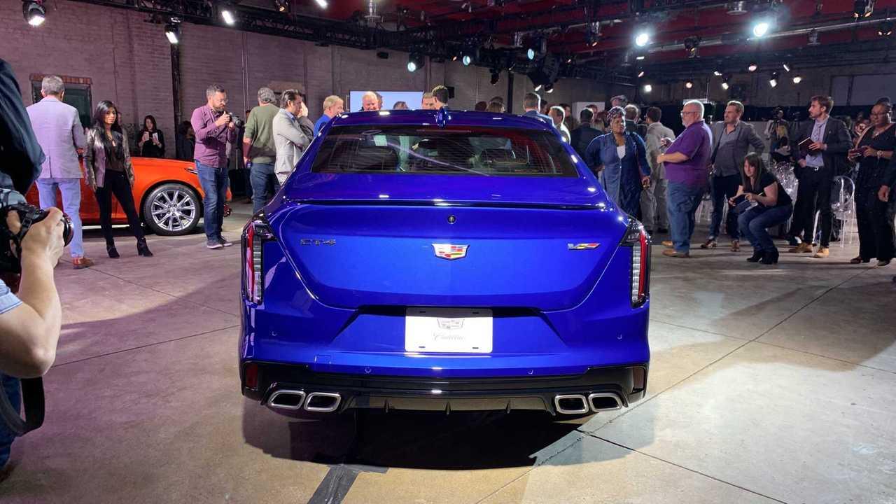 2020 Cadillac CT4-V 11 of 26 | Motor1.com Photos