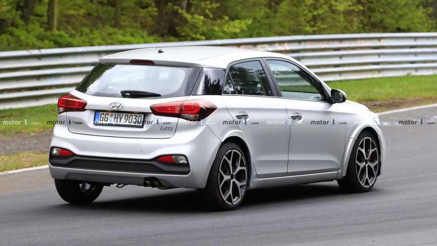 Hyundai i20 N 2020, fotos espía