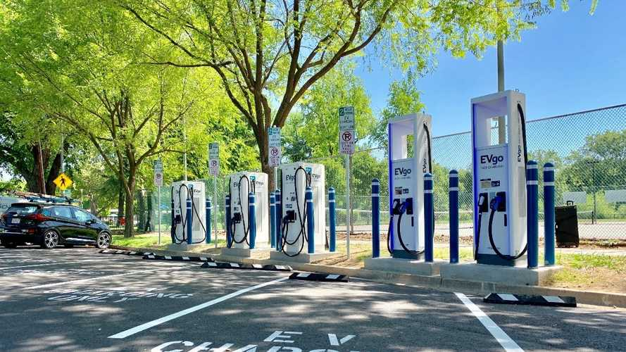 EVgo Launches California's First Curbside Charging Plaza