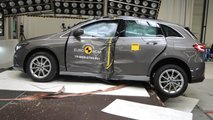Mercedes Classe B Crash Test EuroNCAP 2019