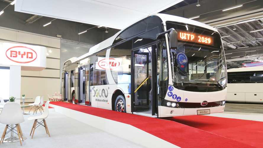 BYD Presents 12-Meter eBus With All-New Aluminium Body