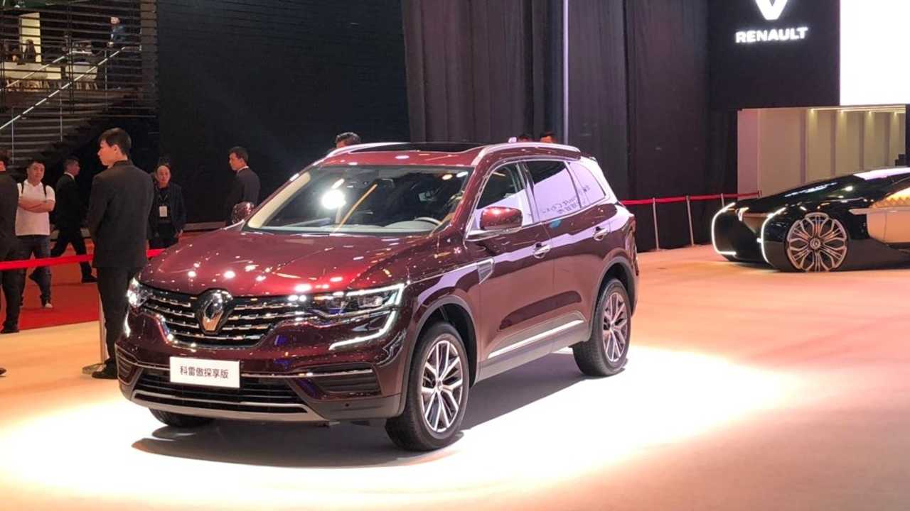 Renault Koleos restylé Chine