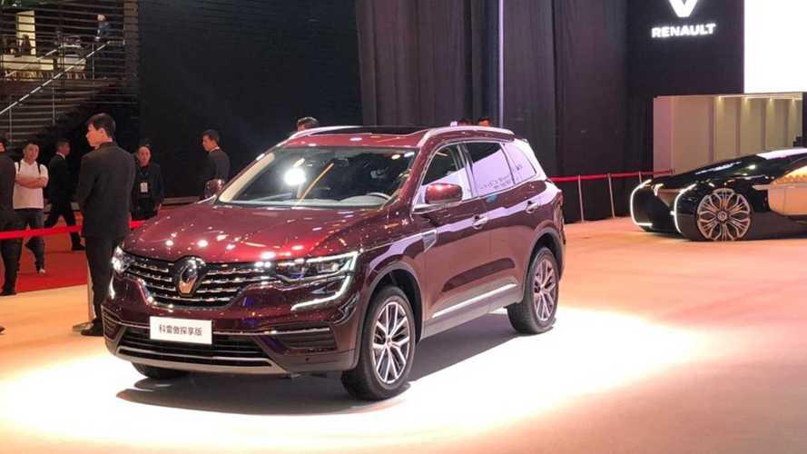 Le Renault Koleos s'offre un restylage