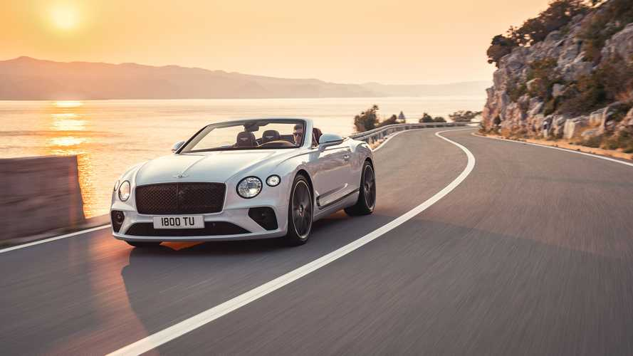 Bentley Continental GTC test drive