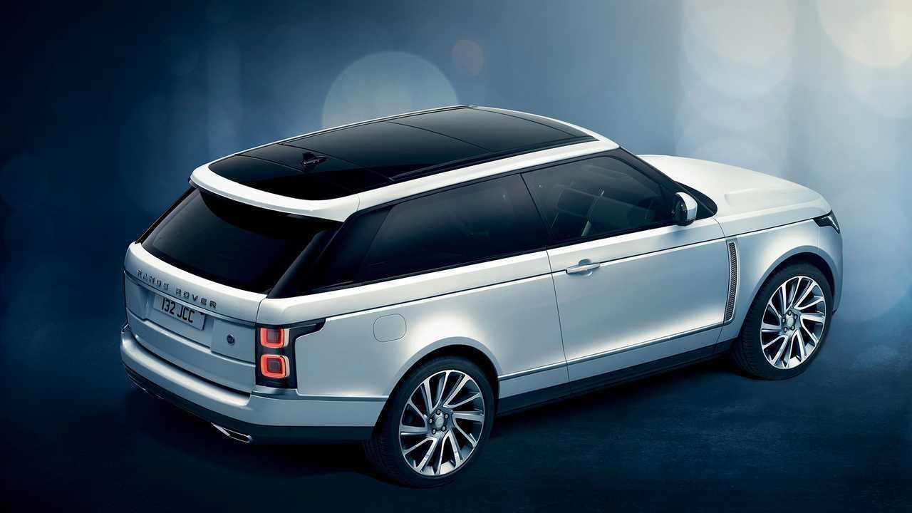Range Rover SV Coupe, le clin d'oeil