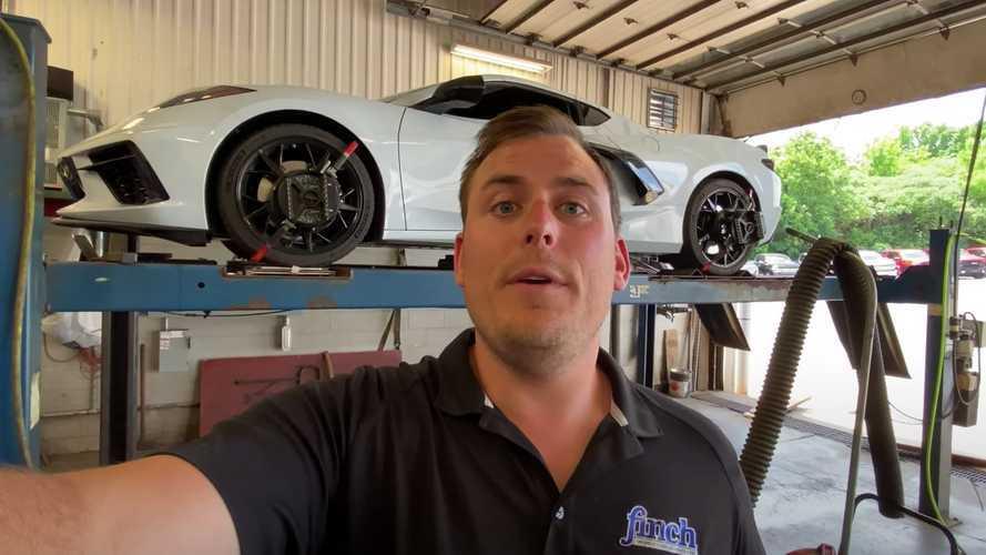 Watch Crosbie Prepare A 2020 Chevrolet Corvette C8 For The Track