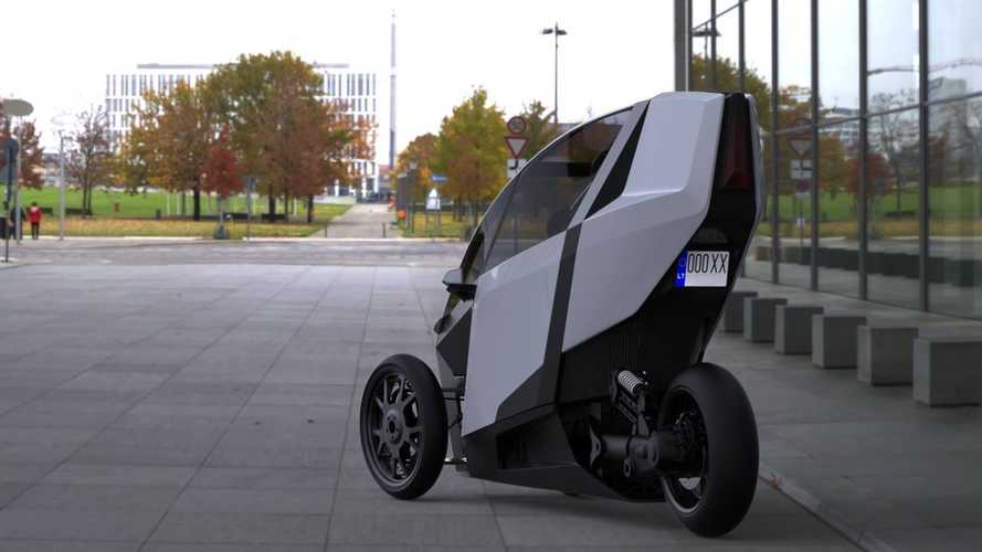 Side By Side, The Ako Trike Lets You Lean Into Corners Like A Motorcycle