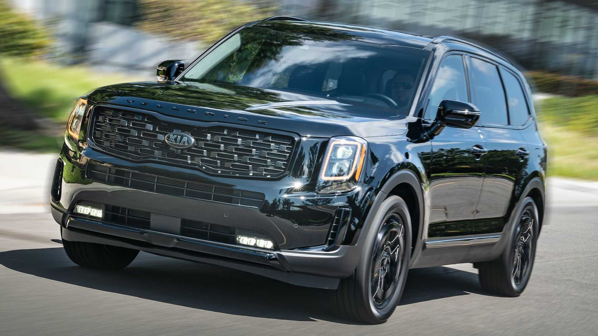 2021 kia telluride nightfall edition debuts in dark trim