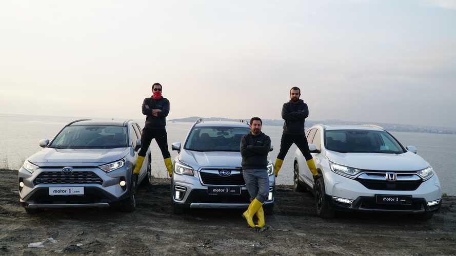 Karşı Karşıya: Toyota, Honda ve Subaru'nun hibrit SUV modelleri - Arazi