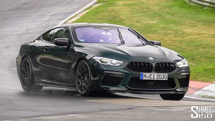 Watch Shmee Lap A Wet Nurburgring In His BMW M8 Competition