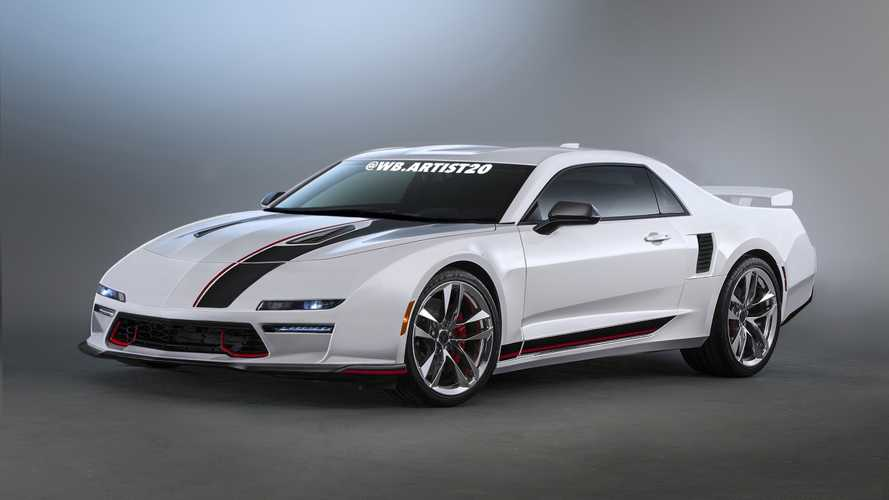 Pontiac Fiero Rendering Reimagines The '80s Mid-Engine Sports Car