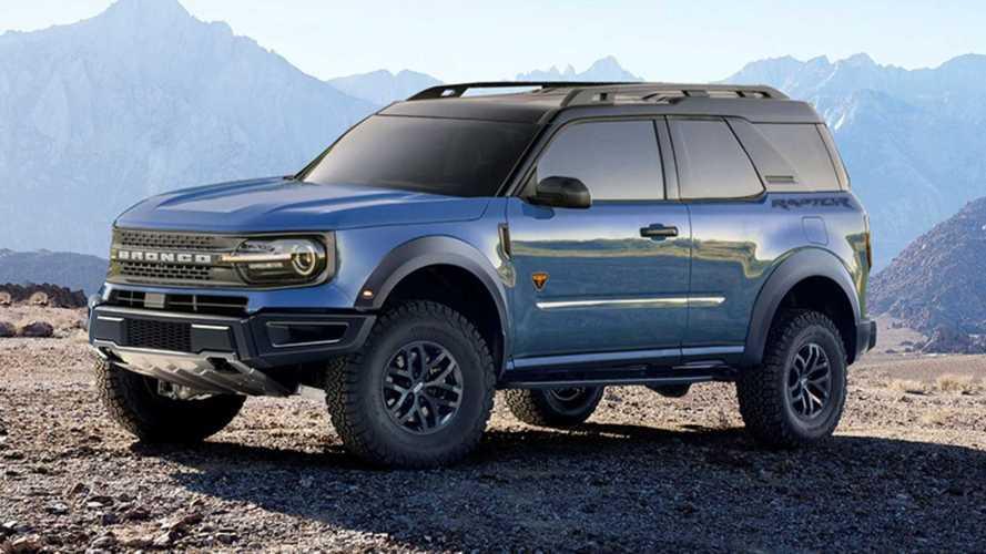 Ford Bronco Sport 2-Door Rendered, Raptor Included