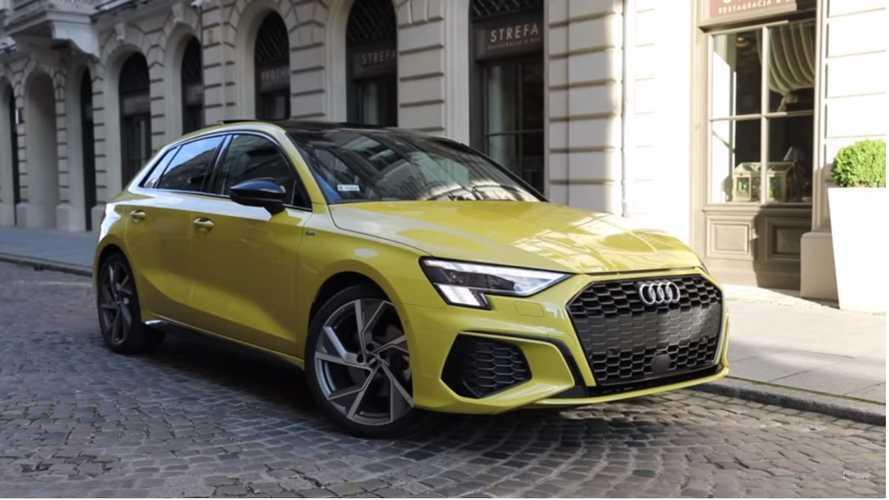 VIDÉO - L'Audi A3 Sportback joue les top models
